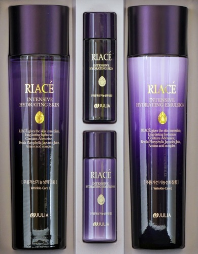 RIACE INTENSIVE HYDRATING (ANTI-WRINKLE) 4 KINDS SET